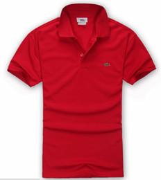 Plus größent-shirts für männer online-Designer Herren Polo Shirt Herren T Shirts Herren Bekleidung Sommer Hot Polo Shirt für Herren Lose Baumwollmischung Stickerei Plus Size S-4XL
