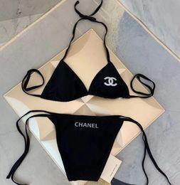 2019 bikini brasilianisch Luxus Dr Brief Bikini brasilianischen Bikini-Badeanzug 2Piece Badebekleidung für Frauen Sexy Designer Bikini Bademoden Boden sexy Badeanzug für Geschenk günstig bikini brasilianisch