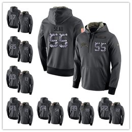 a7fc62e08 Top Sale 99 Joey Bosa Los Angeles Chargers Hoodie 17 Philip Rivers 33 Derwin  James football jerseys