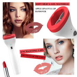 Dessins de lèvre en Ligne-Silicone Lip Plumper Device Dispositif automatique Fuller Lip Plumper Enhancer Rapide Naturel Sexy Intelligent Déflaté Conçu Dispositif Repulpant Lip