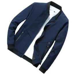 2019 giacche da baseball di qualità uomo 2019 Nuovo stile PB6823 Autunno Mens giacca Stand collare giacca a vento maschile Giacche da baseball casual sottile di alta qualità a vento giacche da baseball di qualità uomo economici