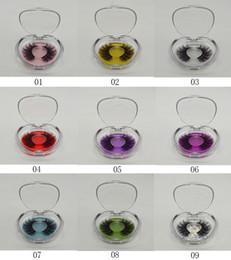 25mm 3D 6D vison cils boîte boîtes de stockage de cils transparents cils en plastique cas ronds vides boîte cosmétiques outil GGA2524 ? partir de fabricateur