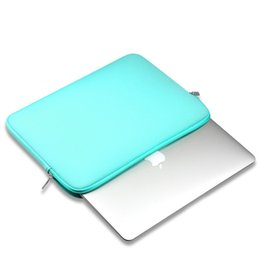 "2019 étuis pour ordinateur portable colorés Laptop Sleeve 13 Pouces 11.6 12 15.4 pouces pour MacBook Air Pro Retina Display 12.9 ""Étui de protection souple pour Apple Samsung Notebook Sleeve"
