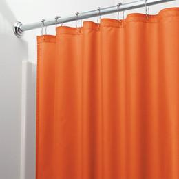 Rideau en Bath résistant solide de moisissure de rideau en douche de polyester solide pour la cloison de salle de bains durable fraîche imperméable de Hotal ? partir de fabricateur