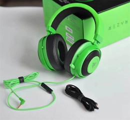 2019 headsets für playstation Razer Kraken Pro V2-Kopfhörer Analog Gaming Headset Vollständig ausziehbar mit ovalen Mikrofonohrpolstern für PC Xbox One und Playstation 4 günstig headsets für playstation