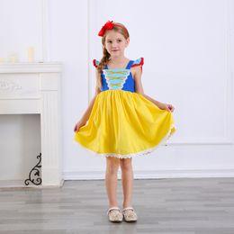 Ropa esponjosa online-Nueva llegada de la princesa vestido de las muchachas niños de algodón de tul mullido fiesta de disfraces de moda de Halloween Navidad Niños Ropa