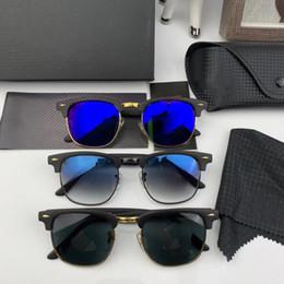 Argentina RayBan Ferrari  RB3016 2018 Gafas de sol de lujo para Unisex Fashion Brand Diseño Oval Protección UV Recubrimiento de la lente Espejo Color de la lente Marco plateado Viene con caja Suministro