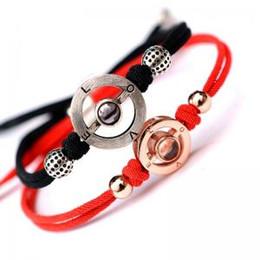 reines liebesarmband Rabatt 100 sprache projektion ich liebe dich armband aus reinem silber rose gold armreif armbänder valentinstag geschenk mode liebhaber paar schmuck gga1571