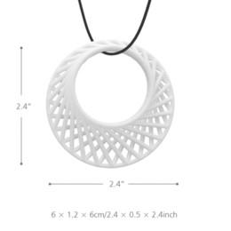 Argentina Colgante rítmico Tomfeel 3D Joyas impresas Diseño original Modelo único cheap 3d printed jewelry Suministro