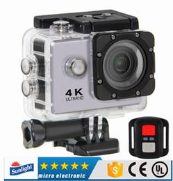 """Kamera zum tauchen online-4K Sport Kamera HD Action 2 """"WIFI Tauchen 30 Meter wasserdichte Kamera 1080P Full HD 140 ° Kamera mit Fernbedienung Sport DV"""