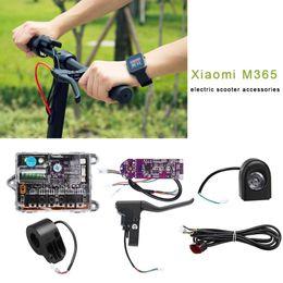 baterias elétricas de scooter lítio Desconto Para Xiaomi M365 Acessórios Scooter Elétrico 36 V Bateria De Lítio Circuito Controlador Motherboard Dashboard Faróis