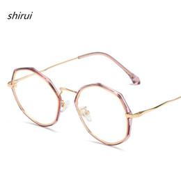 b86b0c1b33 2019 New Retro glasses frame men TR90 Polygon eyeglasses frames women  spectacles myopia trend alloy eyewear