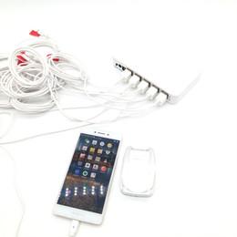 10-канальный мобильный телефон безопасности дисплей сигнализация сотовый телефон розничный магазин противоугонная сигнализация датчик акриловый держатель стенд от