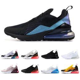 Iluminación futura online-nike air max 270 Nuevos hombres mujeres zapatillas THROWBACK FUTURE triple tigre blanco negro LIGHT BONE BARELY ROSE mens zapatillas deportivas de moda