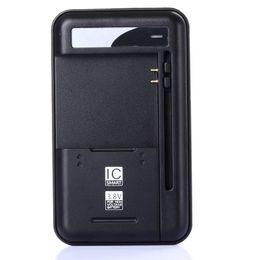 Chargeur de batterie pour téléphone intelligent en Ligne-Chargeur de batterie intelligent de téléphone portable pour Samsung Galaxy S5 S4 NOTE 4 3 Chargeurs de voyage muraux Nokia Xiaomi HTC Sideslip 70mm