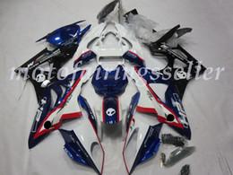 kit carenado yamaha r1 morado Rebajas 4 regalos Moldeo por inyección de ABS Nuevos carenados de la motocicleta Fit Kits para BMW S1000RR 2009 2010 2011 2012 09 10 2011 carrocería conjunto azul negro blanco Rojo