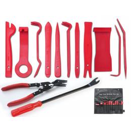 2019 autos werkzeug-kit 13 Teile / los Auto Auto Polster Refit Werkzeuge Clip Zangen Verschluss Remover Türverkleidung Audio Demontage Und Montage Kits Set günstig autos werkzeug-kit