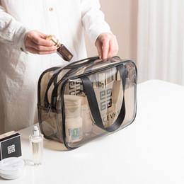 sacos de armazenamento claros Desconto de alta qualidade caixa de design de armazenamento sacos transparentes mulheres luxo geléia pvc claro bolsas de luxo caso cosmético