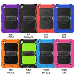 universal kids tablet case Coupons - Silcione Case with Shoulder Strap and Kickstand Kids Safe Impact Resistant Hybrid Cover for Apple iPad Mini 4 Mini 5 Tablet Universal+Stylus