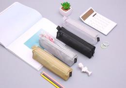2019 sacs à main 4 pièces Mesh Pen Sac Trousse de maquillage outil Sac pochette de rangement bourse sacs à main pas cher