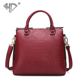 Chine grands sacs en Ligne-Pop2019 Crocodile Est La Chine Grain Femme Bale Sac À Main Sac Tendance Ma'am