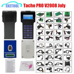 Desbloqueo universal Versión Tacho Pro Plus V2008 julio Auto Dash Programador Odómetro Programador Corrección de kilometraje Tacho Pro 2008 desde fabricantes