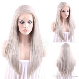 2019 pentes de fibras # 4503 18 em reais cabelo cinza cabelo peruca dianteira do laço combsstraps fibra resistente ao calor para senhora mulher pentes de fibras barato