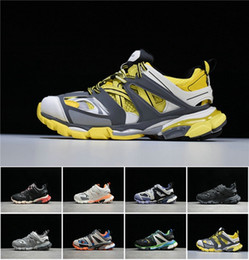 designer tracks for man Promo Codes - 2019 Designer Release 3.0 Tess S Paris track men gomma maille black For women Triple S Clunky Luxury Sneaker Casual Shoes 36-45