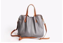 Сумки из натуральной кожи с головным слоем из коровьей кожи личи, женские сумки, модные портативные сумки через плечо, композитные сумки от