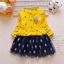 46b9c8f31a26 good quality Spring Autumn Girls Dress Casual Princess Dresses Fashion  Floral Birthday Party Costume Toddler Lace Ball Gown Clothes