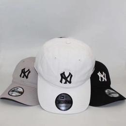 gorras de beisbol japonesas Rebajas Nueva gorra de béisbol NY Japanese wash denim cap hombres y mujeres primavera y verano ocio joker sunshade suntan hat 3 colores