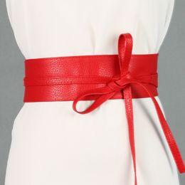 Bowknot Leather Wide Belts UK