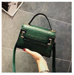 e678a97b07 2018 New Stone Grain Fashion Trend Pattern Buckle Flap Handbags Purse  Shoulder Bags Ladies Messenger Crossbody Bags Wallet Blosa  140269