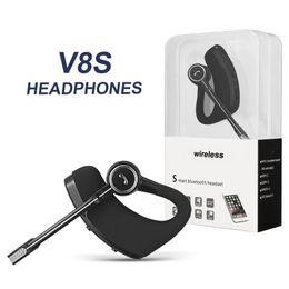 V8 V8s Bluetooth наушники беспроводная гарнитура громкой связи Bluetooth наушники V4.1 Легенда стерео беспроводные наушники для iPhone Samsung в упаковке supplier apple headphones от Поставщики наушники для apple