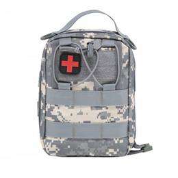 Canada Par DHL Kits d'urgence vider le sac avec la courroie médicale trousse de premiers soins de voiture taille Pack 1000D Nylon 14 * 20 * 8 cm camping en plein air tactique Molle Pouch Offre