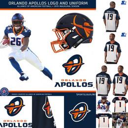 2019 jersey di orlando Mens Orlando Apollos maglia 3 Garrett Gilbert 12 Charles Johnson 29 Keith Reaser 63 Tre Jackson Alleanza di maglie di football americano sconti jersey di orlando