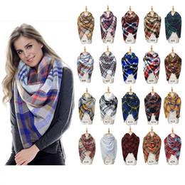 2019 одеяла для девочек Клетчатые шарфы для девочек в шалью 140 * 140 см. Сетка-обертки. Решетка с квадратным вырезом. Шарф с бахромой. скидка одеяла для девочек