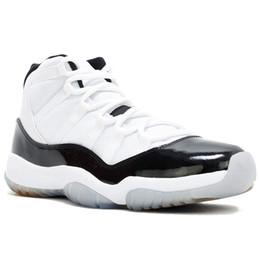 Concord 45 Nike Air Jordan 11 11S Retro XI Platinum Tint Men Scarpe da Basket  11 Bred Space Jam Cap and Gown PRM Sport Donna Sneakers US 5.5-13 1a4e8b52bed