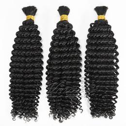 Nova Chegada Preto Natural Por Atacado 100g Brasileira Kinky Curly Onda Profunda Do Cabelo Humano Pacotes Tecer A Granel Extensão Do Cabelo de Fornecedores de ombre expressões cabelo