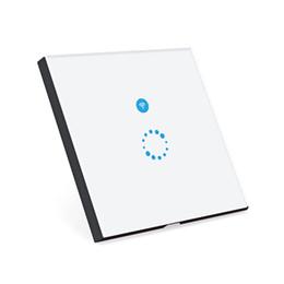 2019 module de relais unique SONOFF Touch WiFi Panel Commutateur de synchronisation mural sans fil avec télécommande via APP Smart Home
