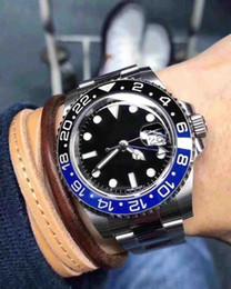 beliebtesten uhren Rabatt Die beliebtesten Weihnachtsgeschenk automatische hochwertige Uhr Edelstahl schwarz blau Zifferblatt Herren mechanische Uhren