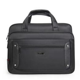 Aktentasche Laptoptasche Oxford Stoff Multifunktions wasserdichte Handtaschen Casual Portfolios Schultertaschen für Männer 16 17 19 Zoll von Fabrikanten