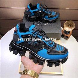 2019 nouvelles chaussures à glissière pour garçons Prada shoes NOUVEAU Designer en bas Sneakers est chaussure rouge pic bas Suede Cut Chaussures pour hommes et femmes Chaussures de luxe de soirée de mariage cristal en cuir