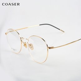occhiali da vista in titanio per uomo Sconti Montature per occhiali in titanio montature trasparenti rotonde trasparenti montature per occhiali da vista uomo donna occhiali da vista ottici vista miopia
