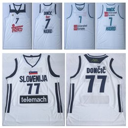 570818d9d000 NCAA Mens Luka  77 Doncic Jersey Cheap Throwback Basketball Jersey  slovenija Team Luka 7  Doncic Stitched Shirts BASKET Basketball