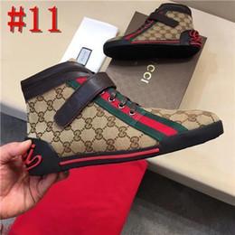 caldo wome Sconti Gucci high heel shoes Hot Sell Uomini Wome di lusso di marca inferiore rossa Mens Sneakers Designers G basso pattini piani casuali all'aperto Zapatillas Driving Man