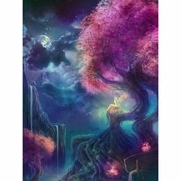 pinturas de phoenix Desconto 5D DIY cheio de diamantes artesanais pintura pintura da árvore redonda ou broca de diamante kits bordado transversal do ponto quadrados Presente Decoração de interiores