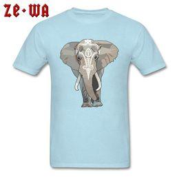 Twisted Envy Boy/'s Tribal Elephant Funny Cotton T-Shirt