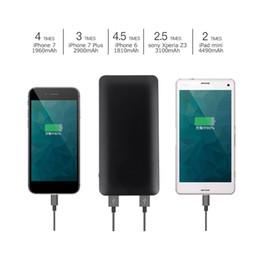 baterias fáceis Desconto LESHP liga de alumínio Power Bank 3.7V 10000MA 37Wh Universal portátil Exterior bateria pacote Compact Ultra-slim fácil de transportar