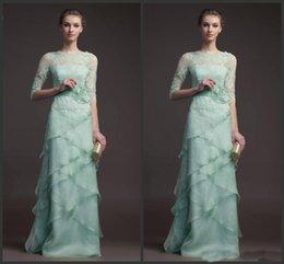2019 Robe Mère de Mariée avec Veste Lacée Manches Courtes Robe Formelle Bustier Empired Tuneed Organza Plume Robe De Mariée Pli ? partir de fabricateur